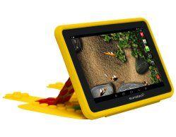 Con un precio de solo 67€, la tablet infantil KIDOZDUAL de Sunstech está especialmente adaptada para los más pequeños. Cuenta con un procesador de doble núcleo a 1,6 GHz, 512 MB de RAM y una GPU de cuatro núcleos.