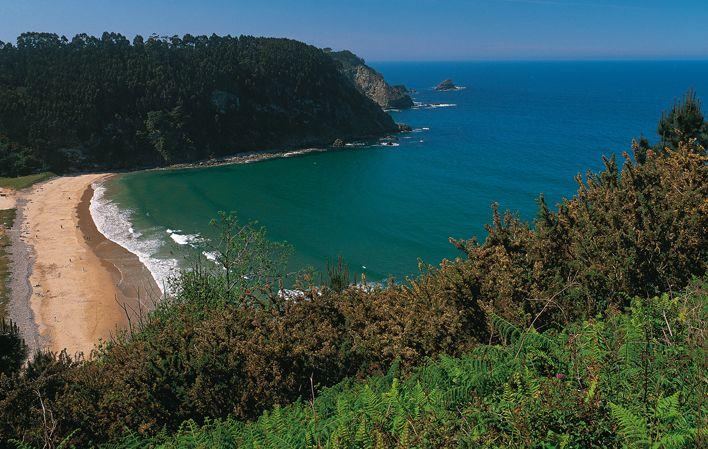 Playa de San Pedro de la Ribera / San Pedro de Bocamar #Cudillero #playa #beach #Asturias #ParaísoNatural #NaturalParadise #Spain
