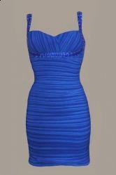 Rochie albastra majorat. Aceasta rochita o gasiti aici: www.dreamfashion.ro