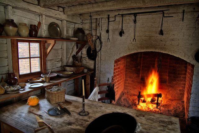Colonial Williamsburg Kitchen
