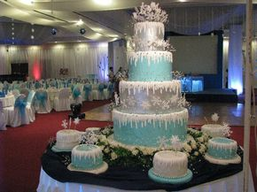 Snow Queen | Winter Wonderland Sweet Fifteen Theme | Quince Candles