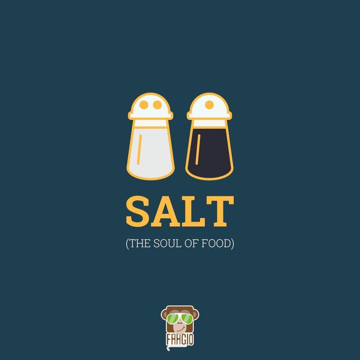 The Soul of Food.. #Salt #Food #Soul ##Pepper #HealthyEating #Faagio