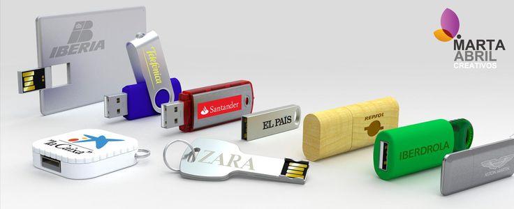 Pensando ya en qué detalle tener con tus clientes en #Navidad?  Personaliza un USB con tu marca y el regalo ideal!  Consúltanos formatos y tarifas  #Regalos #ArtículosReclamo www.martaabrilcreativos.com