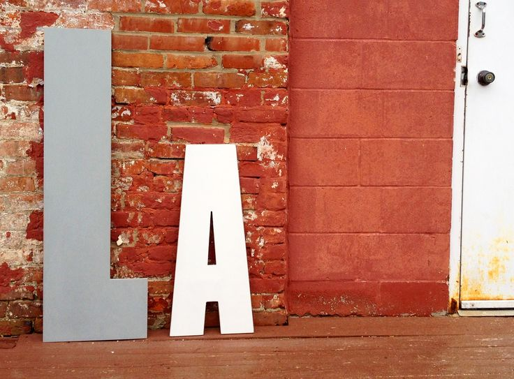 big wall letters