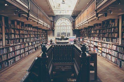 La Bibliothèque, Livres