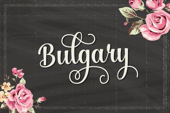Bulgary (25% Off) by artimasa on Creative Market