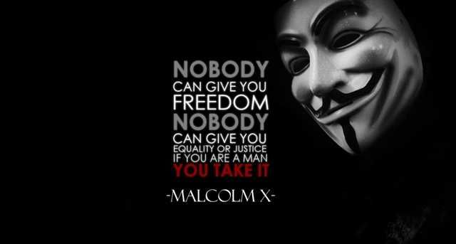 Nobody Can Give You Freedom Malcom X 1120 X 600 V For Vendetta Quotes Vendetta Quotes V For Vendetta