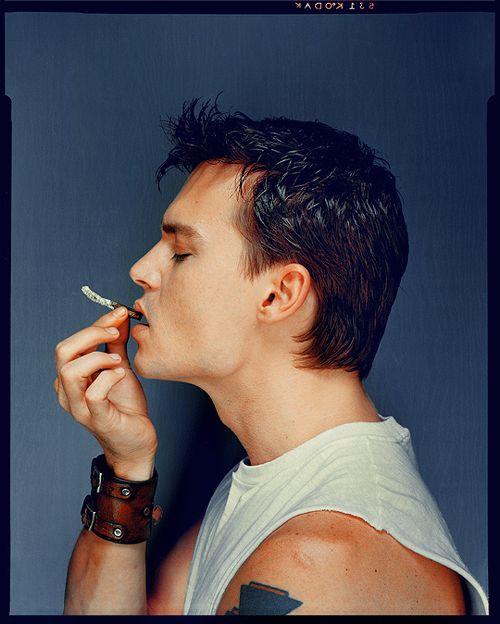 Johnny Depp | by Dan Winters