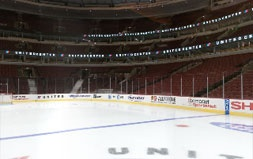 Center Ice at the United Center ~ Home of the Blackhawks