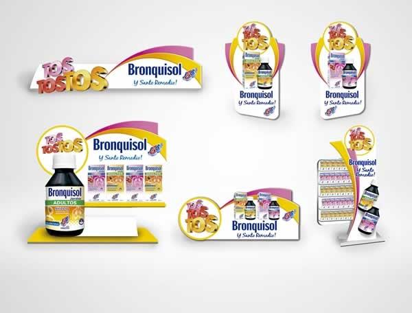 Cliente: JGB Producto: Bronquisol Referencia: Tos Tos Tos Aplicación: Material de Merchandising y Visibility Fecha: 2012