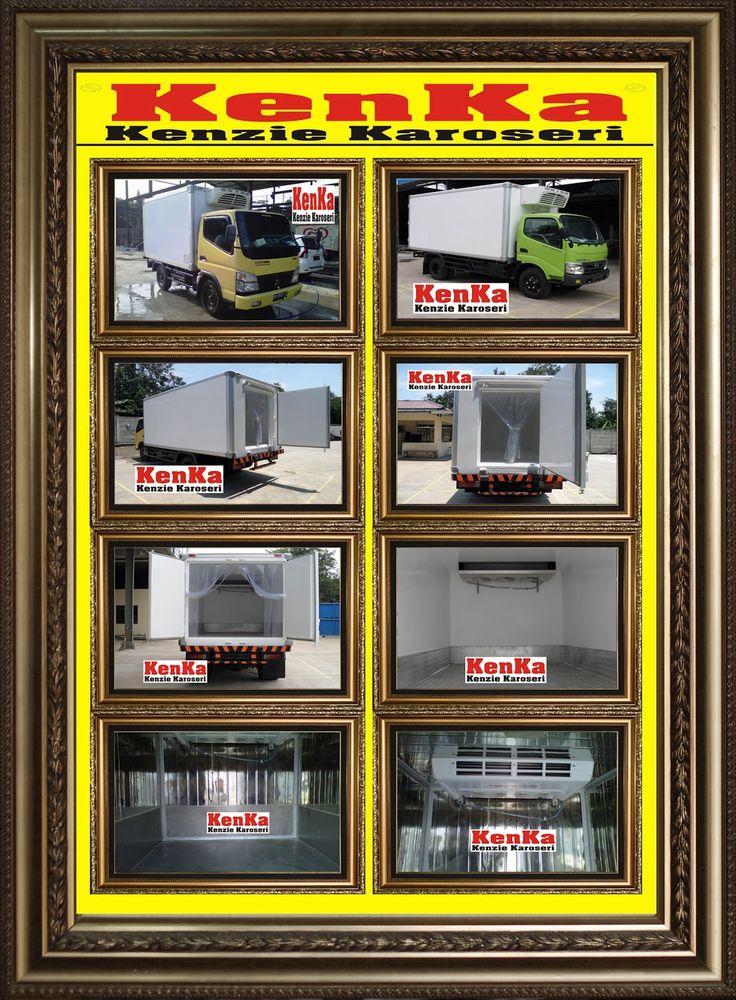 TRUCK BOX PENDINGIN >> KAROSERI KENKA