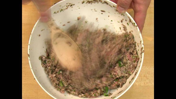 Easy Veal Recipe: Veal and Portobello Mushroom Burger