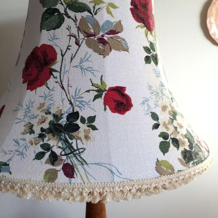 136 best vintage barkcloth lampshades images on pinterest lamp fothergayvintage barkcloth bowed empire lampshade aloadofball Choice Image