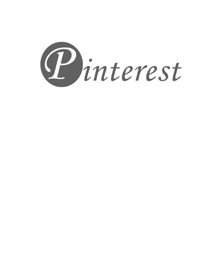 Pinterest Logo Black and White | Pinterest!!!