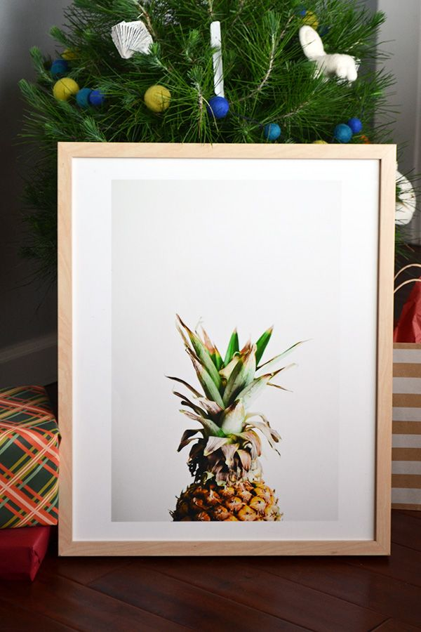 pineapple print from minted