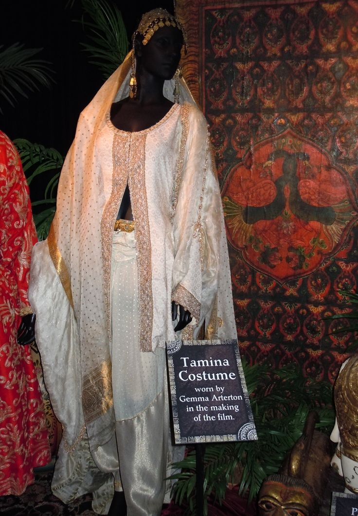 """Prince of Persia"", princess Tamina costume"