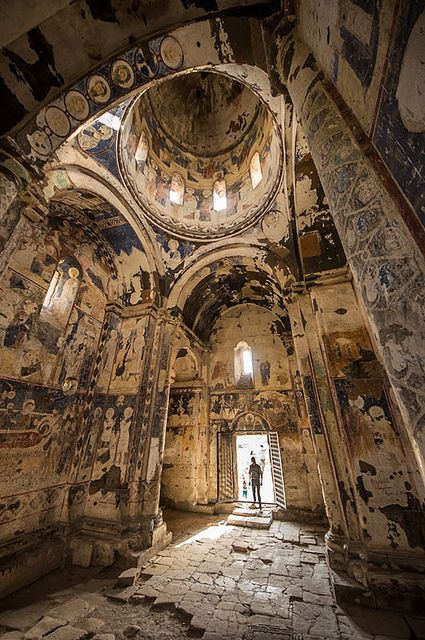 ANI RUINES: CHURCH OF ST GREGORY OF TIGRAN HONENTS • AD 1215 • Armenian • Kars Province, Turkey