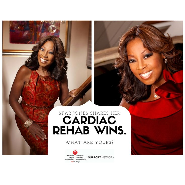 """Star Jones on the need to do cardiac rehab: """"You need to take your life back, and go from being a heart disease patient to a heart disease survivor."""" We couldn't agree more – take control of your health and be your best! #GoRedWearRed  http://spr.ly/6497Bw3VT"""