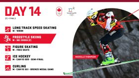 Each day olympic.ca will be posting a preview of that day's events. Here is what's happening on February 23, Day...