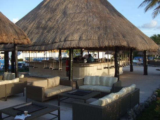 Moon Palace Resorts, Cancun - The Swing Bar!!