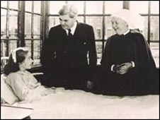 1948, 5 July: Health Secretary Aneurin Bevan formally launched the NHS. For the first time, health care became free to all.  From the BBC's timeline of the history of the NHS.