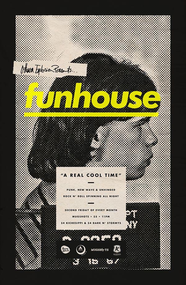 funhouse by Michael George Haddad, via Behance