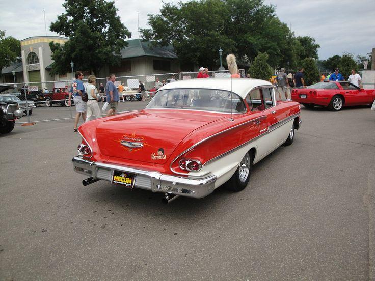 1958 - Chevrolet Biscayne - 2 - rear side