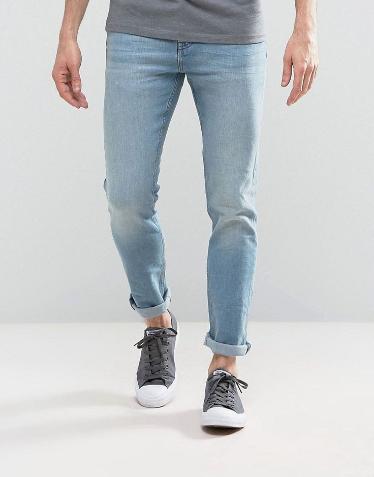Get this Loyalty & Faith's slim jeans now! Click for more details. Worldwide shipping. Loyalty and Faith Pillar Slim Stretch Jeans in Light Wash - Blue: Jeans by Loyalty Faith, Stretch denim, Light wash, Low rise, Zip fly, Slim fit - cut close to the body, Machine wash, 98% Cotton, 2% Elastane, Our model wears a W 32 L 32 and is 185.5cm/6'1 tall. (vaquero slim, stretch, fit, ajustado, tapered, estrechos, ajustados, jeans slim fit, jeans slim, jean slim, jeans slim)