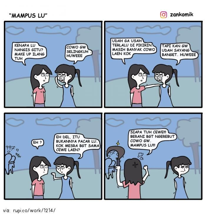 Mampus Lu - Rupi - Social Comic Strip @rupidotco
