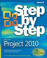 Microsoft Project 2010 Step by Step 0 9780735626959 0735626952