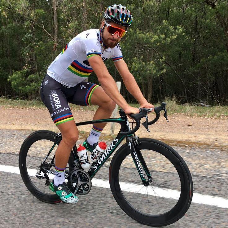 Peter Sagan Training! Tour Down Under @BORAhansgrohe