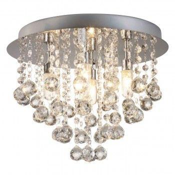 Kristall Deckenleuchte Deckenlampe Design
