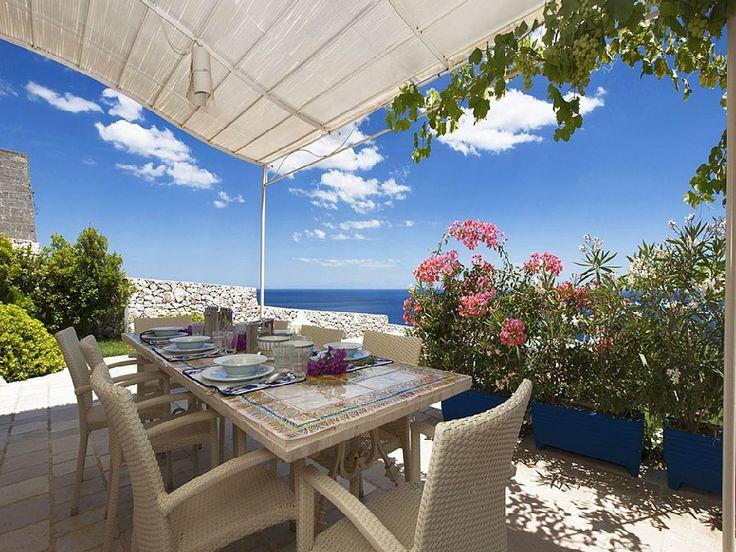 Meravigliosa casa vacanza con vista mare a Castro Marina, #Puglia