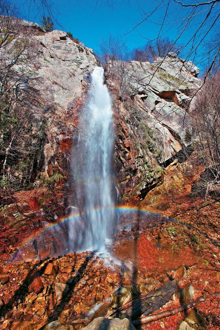 Waterfall in Mouries village, Kilkis