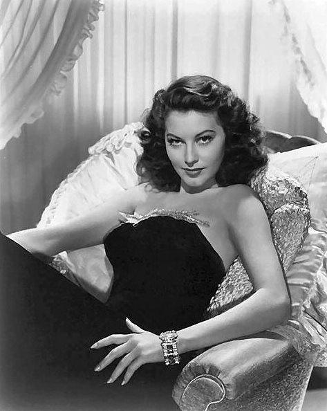 Old Hollywood Glamor, Ava Gardner #old_Hollywood #Ava #Gardner