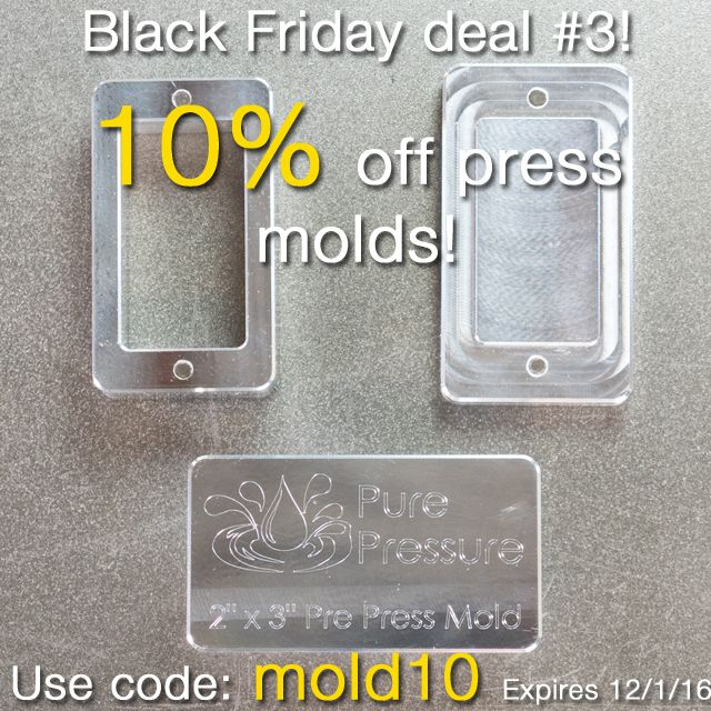 """Link in bio to visit our website for 10% off one of our 100% aluminum, magnetized pre-press molds that are made at our shop in Denver, Colorado! Made with durable, ultra-thick walls and an innovative push-out slide feature that means you never have to pick your material out of your mold.  Available in 2"""" x 3"""" and 2"""" x 9""""! All 2"""" x 3"""" molds come with a free 12 rosin bag sample kit.  #rosin #rosintech #rosinpress #dabs #denver #colorado #420 #710 #hash #parchment #extraction #solventless #sho…"""
