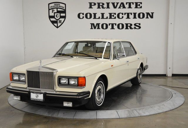 1990 Rolls Royce Silver Spur