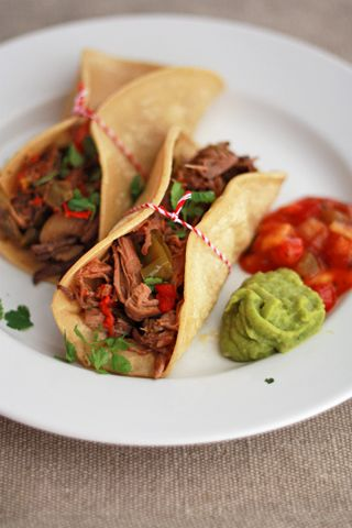 Slow Cooker Beef Carnitas I One Lovely Life