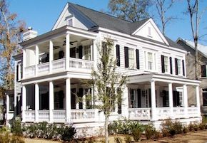 Low Country House Plan