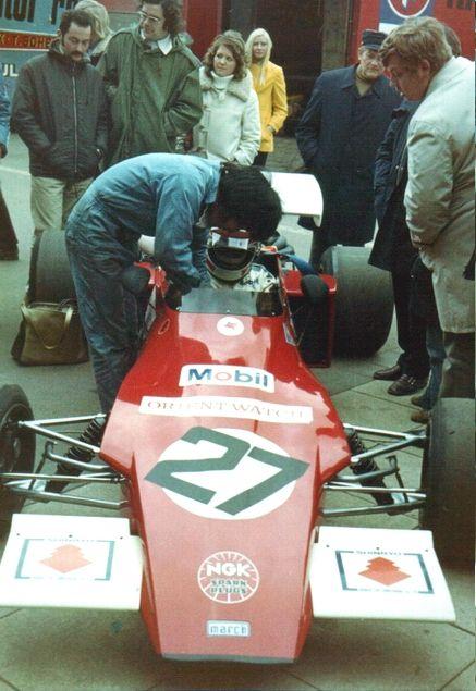 Hiroshi Kazato - March 722 Ford BDA - Peter Bloore Racing - XXXV ADAC-Eifelrennen 1972 - Non championship race