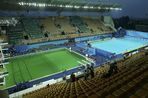 Olympic diving pool and the pool for the waterpolo and synchronized swimming