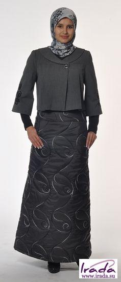 Купить юбку утепленную на синтепоне