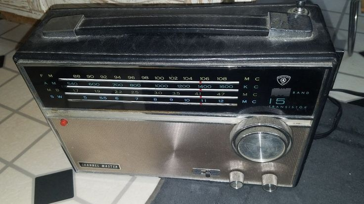 For model 4 Band 15 Transistor 6436-A, Channel Master Corp.; USA Channel Master Price List Aug. 1968. Channel Master 6436-A 4-Band;. FULLY WORKING AND TESTED. AFC, tone control, jack for earphone, dial.   eBay!