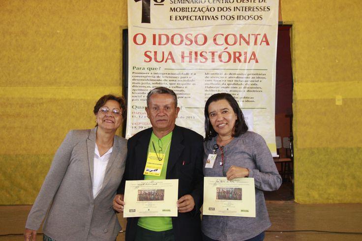 Fotógrafo é homenageado em seminário realizado em Novo Gama