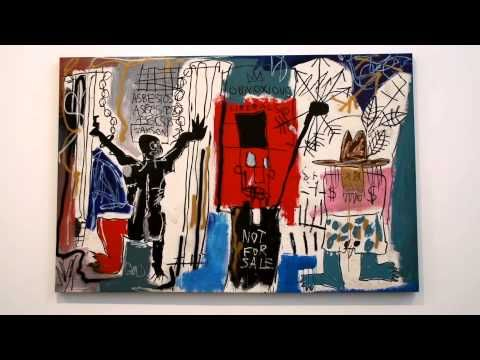 VIDEO: JEAN-MICHEL BASQUIAT at Gagosian Gallery West 24th Street, New York