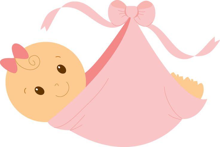 Baby Girl Clip Art | Abra a imagem em outra aba p salvar em seu tamanho original ^^