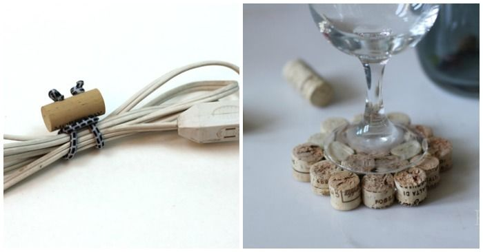 Do you have a stash of wine corks that you're not sure what to do with? We came across lots of fun wine cork crafts, that we think you'll actually use.