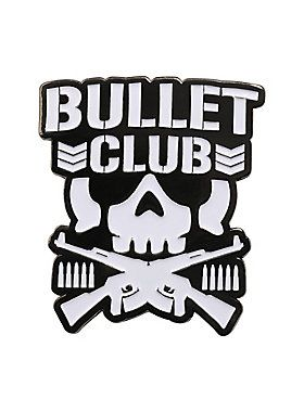 """Show your love for New Japan's Bullet Club with this metal & enamel pin featuring the wrestling stable's """"Bone Soldier"""" logo.<ul><li style=""""list-style-position: inside !important; list-style-type: disc !important"""">Metal; enamel</li><li style=""""list-style-position: inside !important; list-style-type: disc !important"""">Imported<br></li></ul>"""