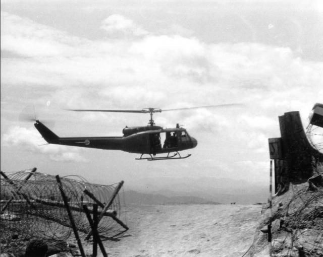 Firebase Ripcord Helicopter