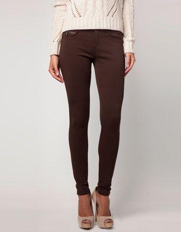 outfit pantalon cafe mujer - Buscar con Google